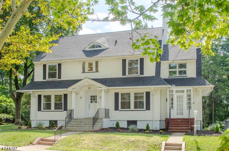 Частный односемейный дом для того Продажа на 112 Connett Place South Orange, Нью-Джерси 07079 Соединенные Штаты