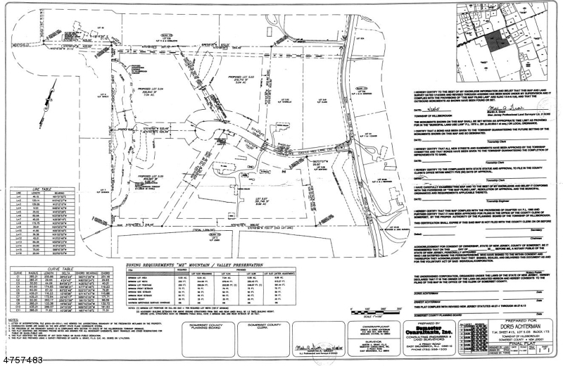 Land for Sale at Castle Hill Lane Hillsborough, New Jersey 08844 United States