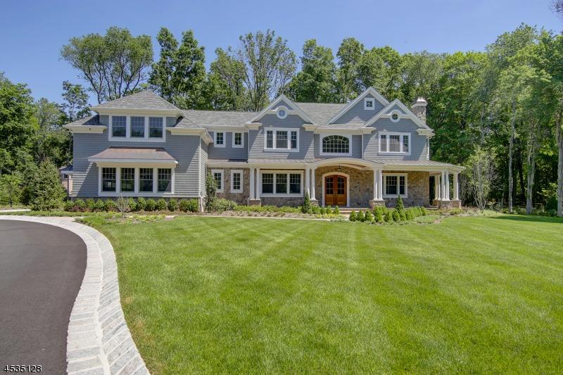 Maison unifamiliale pour l Vente à 3 Bridle Way Saddle River, New Jersey 07458 États-Unis