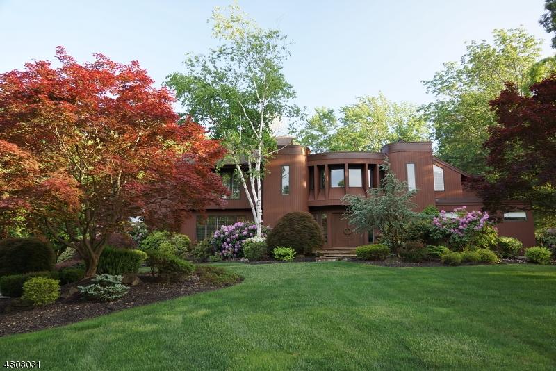 Частный односемейный дом для того Продажа на 10 Exeter Lane Morris Township, Нью-Джерси 07960 Соединенные Штаты