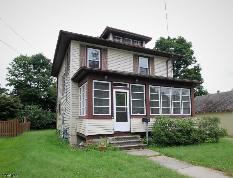 Maison unifamiliale pour l Vente à 110 E Prospect Street Hackettstown, New Jersey 07840 États-Unis