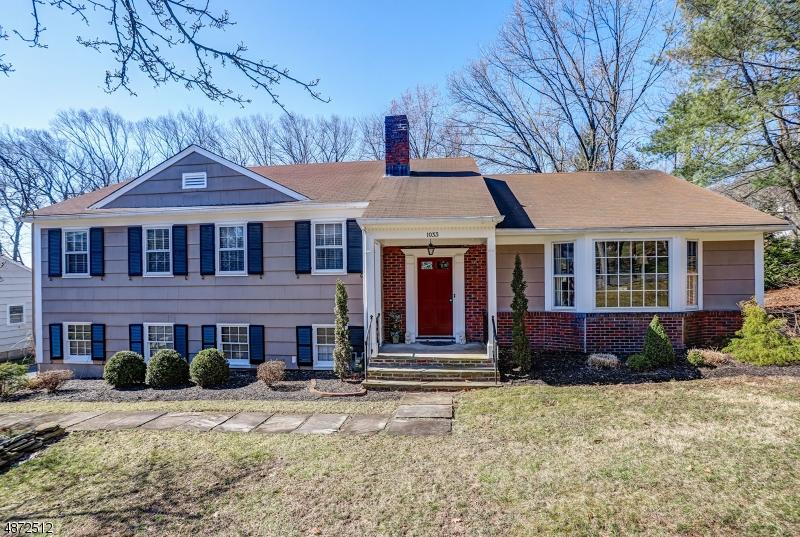 独户住宅 为 销售 在 1033 LEDGEWOOD Road Mountainside, 新泽西州 07092 美国