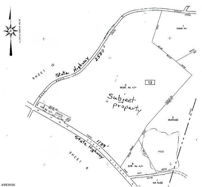 Terreno per Vendita alle ore 28 Route 15 Lafayette, New Jersey 07848 Stati Uniti
