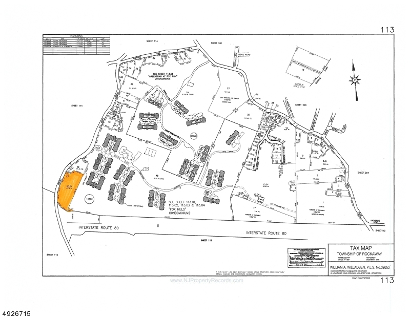 Land for Sale at Rockaway, New Jersey 07801 United States
