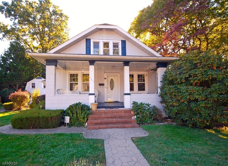 Casa Unifamiliar por un Venta en 245 WILLOW AVE EXT Plainfield, Nueva Jersey 07060 Estados Unidos