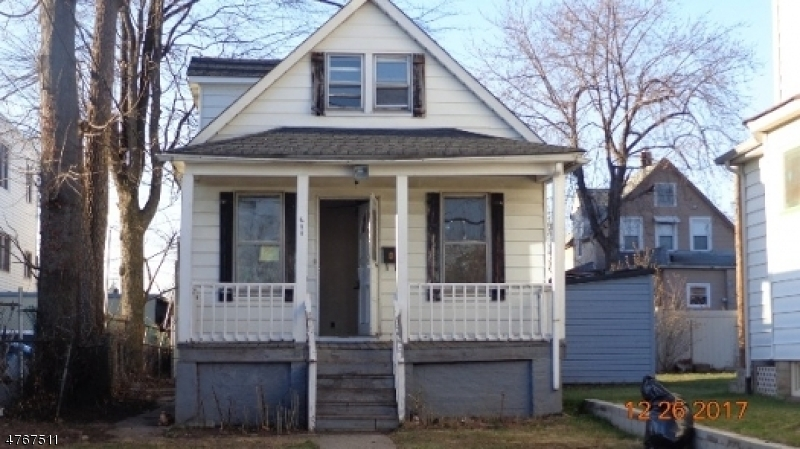 Single Family Home for Sale at 611 Hussa Street Linden, New Jersey 07036 United States