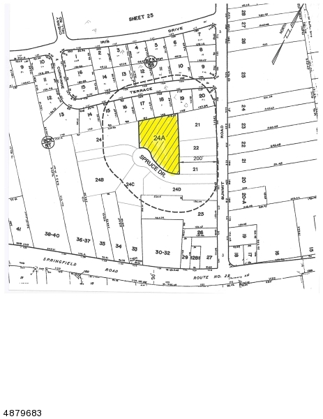 Land / Lots for Sale at 1128 Spruce Dr 1128 Spruce Dr Mountainside, New Jersey 07092 United States