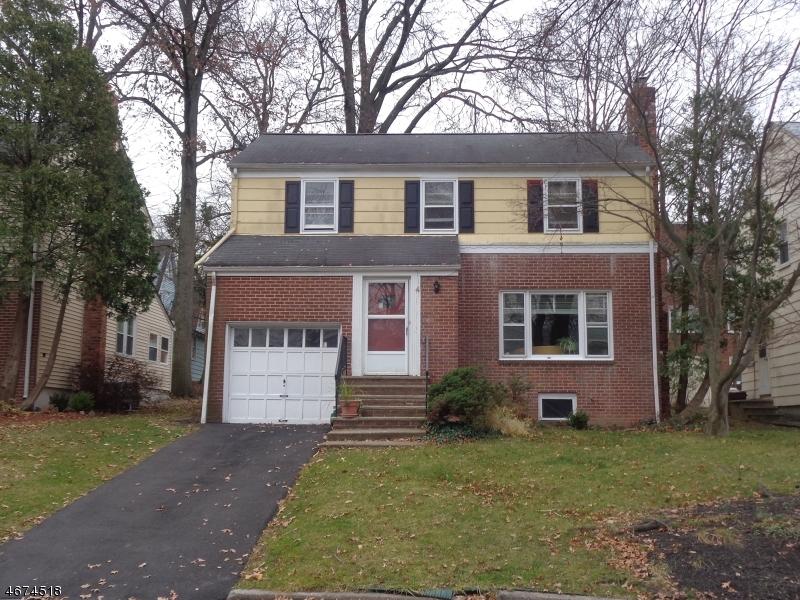 Частный односемейный дом для того Аренда на 4 Northview Ter Maplewood, Нью-Джерси 07040 Соединенные Штаты
