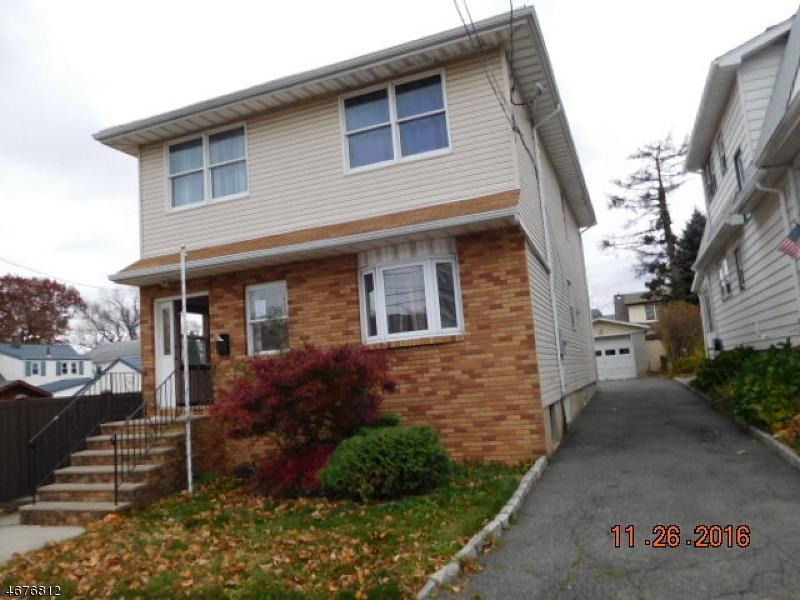 Частный односемейный дом для того Продажа на 218 Seeley Avenue Kearny, 07032 Соединенные Штаты