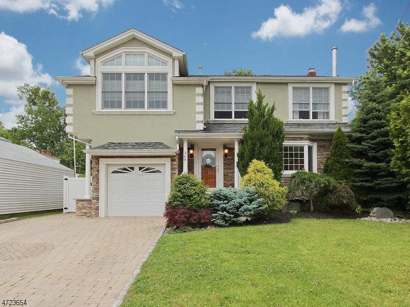 Частный односемейный дом для того Продажа на 309 MAPLE STREET Garwood, Нью-Джерси 07027 Соединенные Штаты