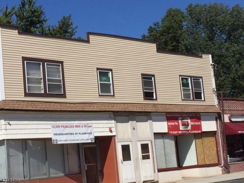 Частный односемейный дом для того Аренда на 1101 E 2nd Street Plainfield, Нью-Джерси 07062 Соединенные Штаты