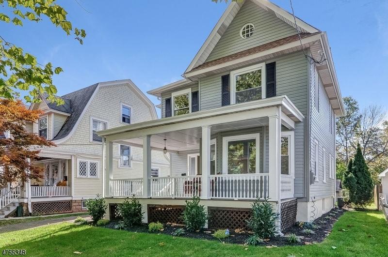 Maison unifamiliale pour l Vente à 153 Westervelt Avenue North Plainfield, New Jersey 07060 États-Unis