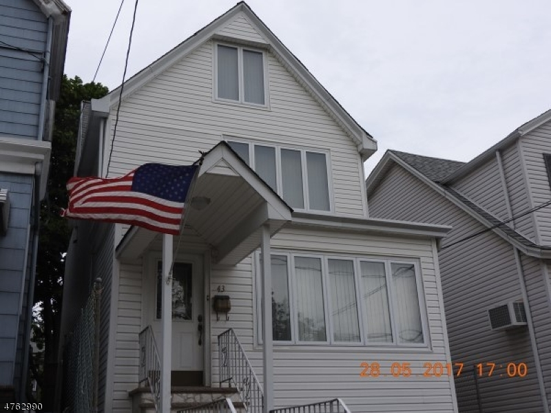 Single Family Home for Sale at 43 W 43rd Street 43 W 43rd Street Bayonne, New Jersey 07002 United States