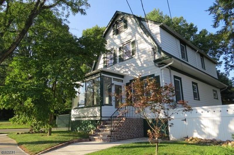 Частный односемейный дом для того Продажа на 37 Oakdale Avenue Millburn, 07041 Соединенные Штаты