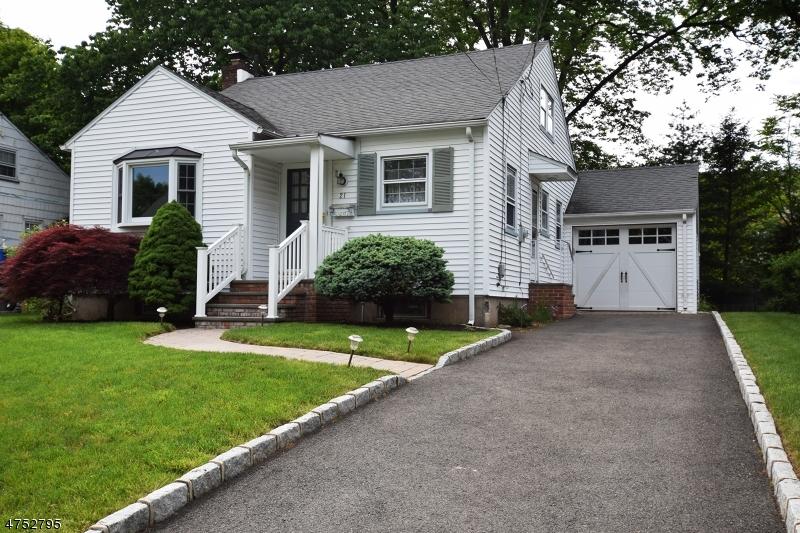 Частный односемейный дом для того Аренда на 21 Alvin Ter Springfield, Нью-Джерси 07081 Соединенные Штаты