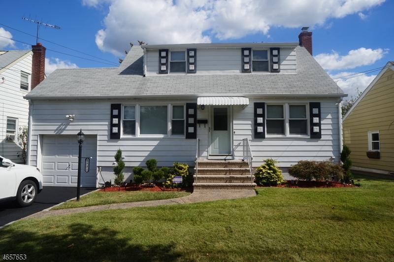 Частный односемейный дом для того Продажа на 2531 Standish Avenue Union, Нью-Джерси 07083 Соединенные Штаты