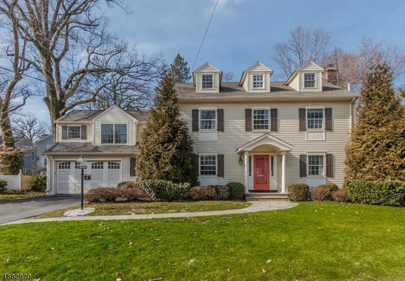 Частный односемейный дом для того Продажа на 6 Fernwood Road Summit, 07901 Соединенные Штаты