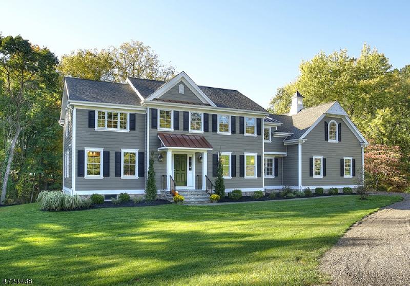 Частный односемейный дом для того Продажа на 1 Patriot Road Peapack Gladstone, 07934 Соединенные Штаты