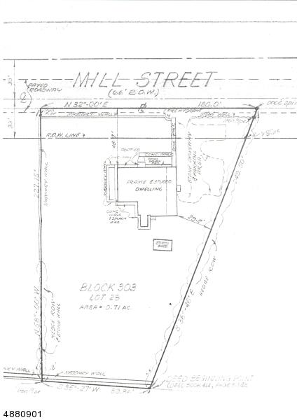 Commercial pour l Vente à 171 MILL Street Newton, New Jersey 07860 États-Unis