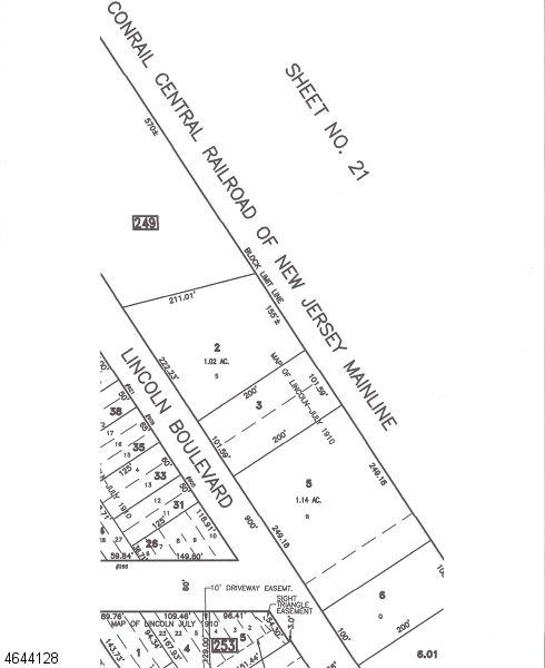 Land for Sale at 906 LINCOLN BLVD Middlesex, 08846 United States