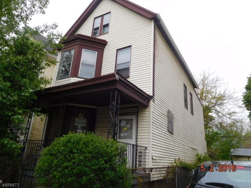 Single Family Home for Sale at 151 Streeteuben Street East Orange, New Jersey 07018 United States