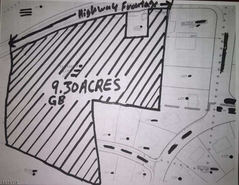 Land for Sale at 614 Route 9 S Tuckerton, 08087 United States