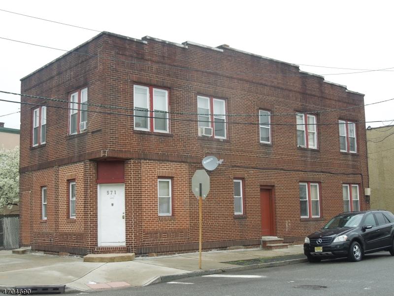 多户住宅 为 销售 在 571 Jackson Avenue Elizabeth, 07201 美国
