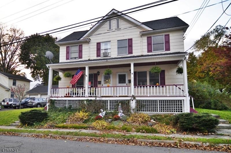 Casa Multifamiliar por un Venta en 315-317 LAFAYETTE Street Hackettstown, Nueva Jersey 07840 Estados Unidos