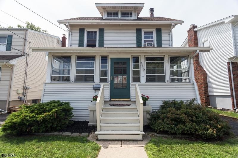 Maison unifamiliale pour l Vente à 339 MYRTLE Avenue Garwood, New Jersey 07027 États-Unis