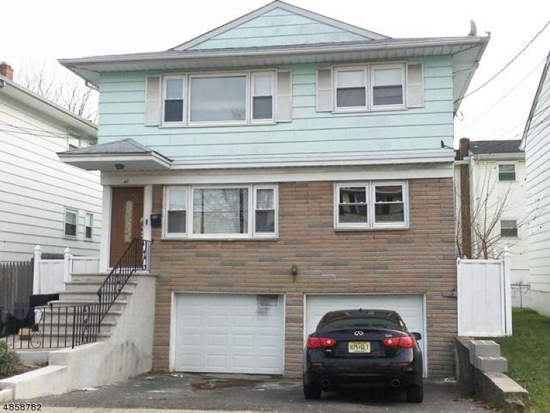 Multi-Family Home for Sale at 47 WOLF Place Hillside, New Jersey 07205 United States