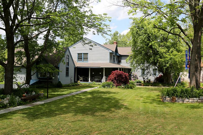 Maison unifamiliale pour l Vente à 259 WASH CROSS PENN Road Titusville, New Jersey 08560 États-Unis