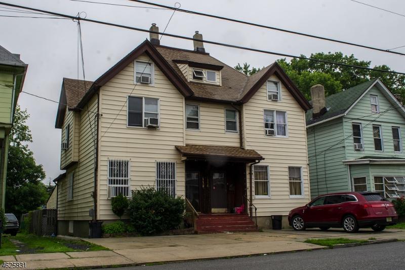 Частный односемейный дом для того Продажа на 112 Elm Street Elizabeth, Нью-Джерси 07208 Соединенные Штаты