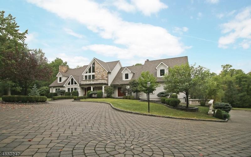 Частный односемейный дом для того Продажа на 99 Sunset Lane Basking Ridge, Нью-Джерси 07920 Соединенные Штаты