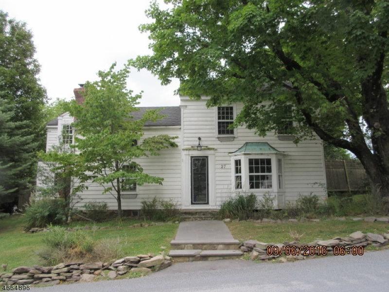 Maison unifamiliale pour l Vente à 27 BISSELL Road Lebanon, New Jersey 08833 États-Unis