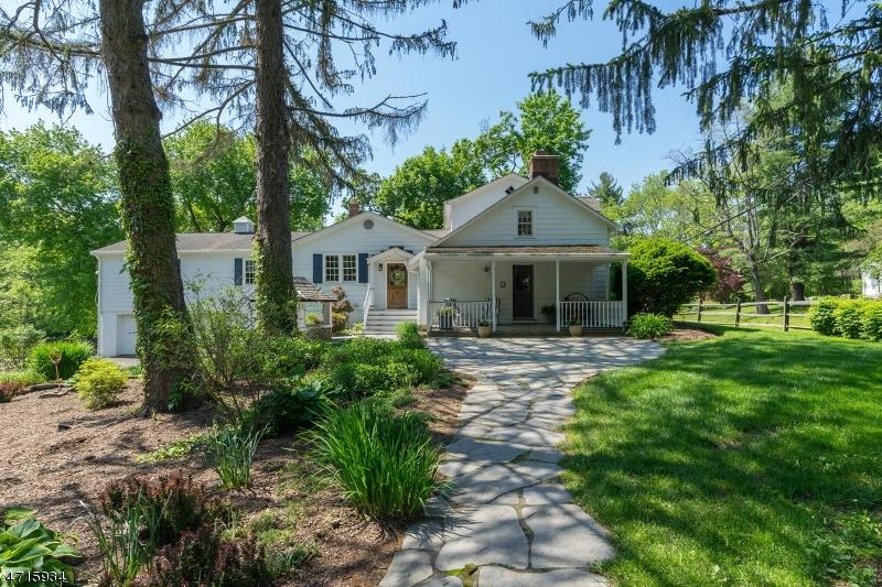 Частный односемейный дом для того Продажа на 115 LINVALE Road East Amwell, 08551 Соединенные Штаты