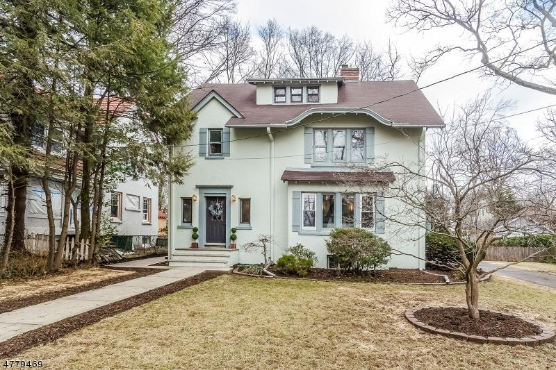 Maison unifamiliale pour l Vente à 13 Maple Ter Maplewood, New Jersey 07040 États-Unis