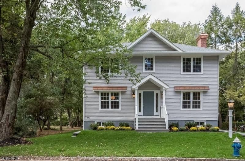 Частный односемейный дом для того Продажа на 41 Fairview Avenue New Providence, Нью-Джерси 07974 Соединенные Штаты