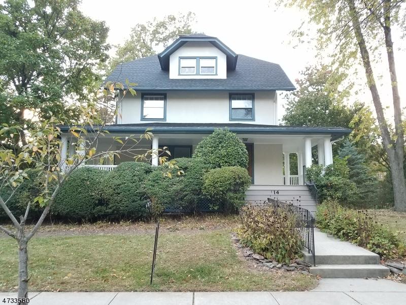 Maison unifamiliale pour l à louer à 114 Edgemont Road Montclair, New Jersey 07043 États-Unis