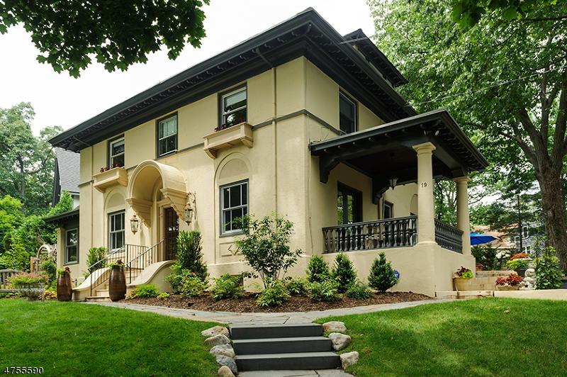 Частный односемейный дом для того Аренда на 19 Oak Ridge Avenue Summit, Нью-Джерси 07901 Соединенные Штаты