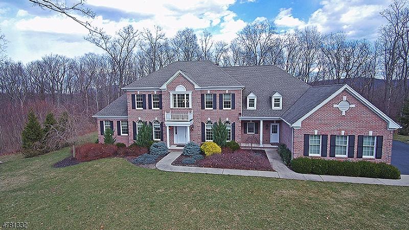 Maison unifamiliale pour l Vente à 56 Flagstone Hill Road Wantage, New Jersey 07461 États-Unis