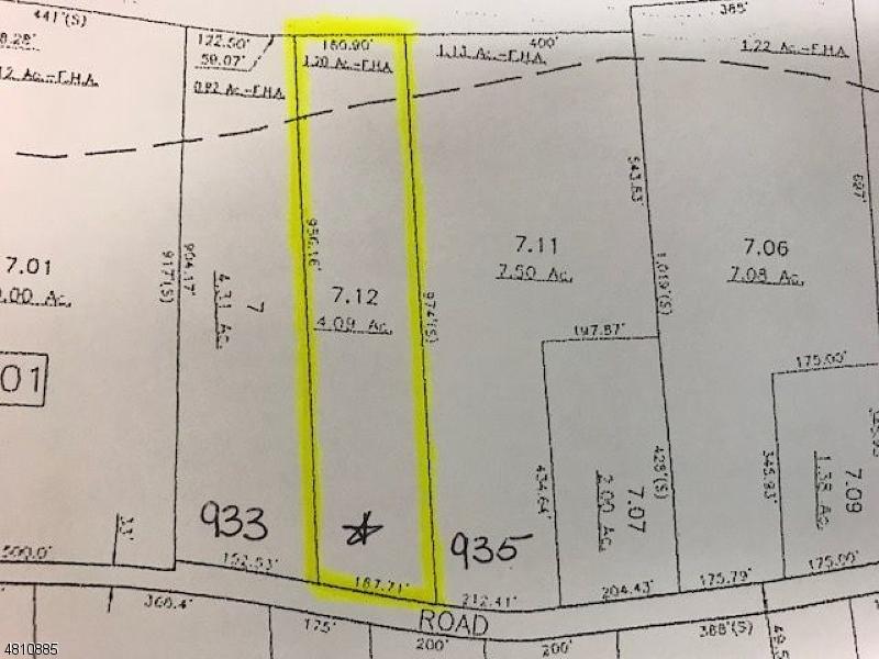 土地 為 出售 在 POTTERS Road Stillwater, 新澤西州 07860 美國