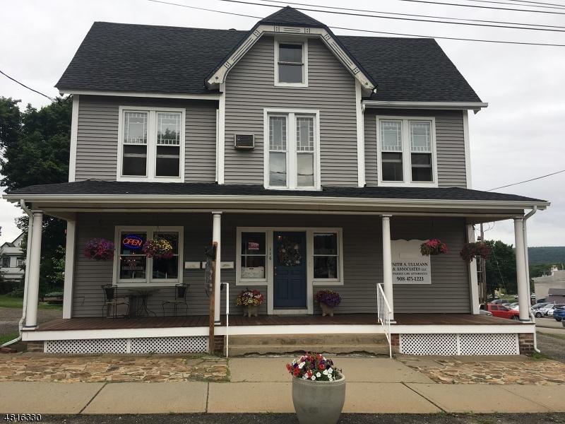 Tek Ailelik Ev için Kiralama at 116 HIGH Street Hackettstown, New Jersey 07840 Amerika Birleşik Devletleri