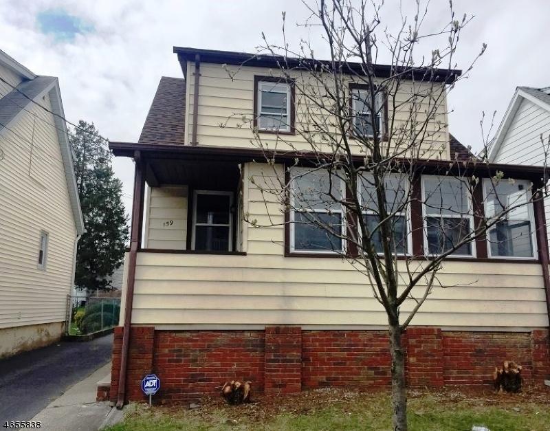 Casa Unifamiliar por un Venta en 159 Silleck Street Clifton, Nueva Jersey 07013 Estados Unidos