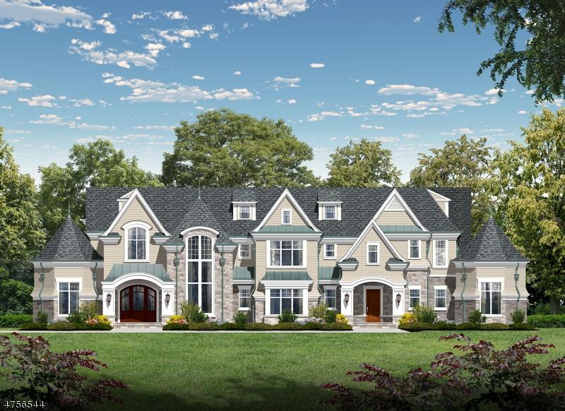 Maison unifamiliale pour l Vente à 103 Chestnut Ridge Road Saddle River, New Jersey 07458 États-Unis