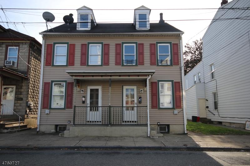 Casa Unifamiliar por un Alquiler en 170-172 MERCER Street Phillipsburg, Nueva Jersey 08865 Estados Unidos