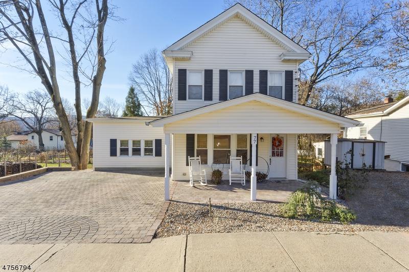 Частный односемейный дом для того Продажа на 77 Belvidere Avenue Oxford, Нью-Джерси 07863 Соединенные Штаты