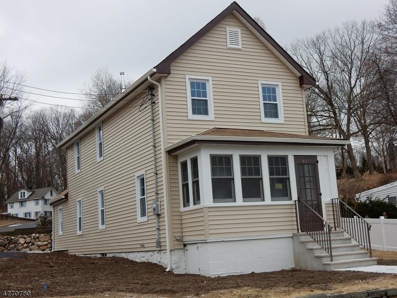 Maison unifamiliale pour l Vente à 40 Center Street Netcong, New Jersey 07857 États-Unis