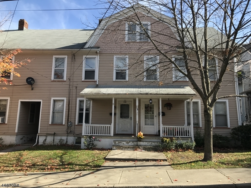 Single Family Home for Rent at 106 BROAD Street Washington, 07882 United States