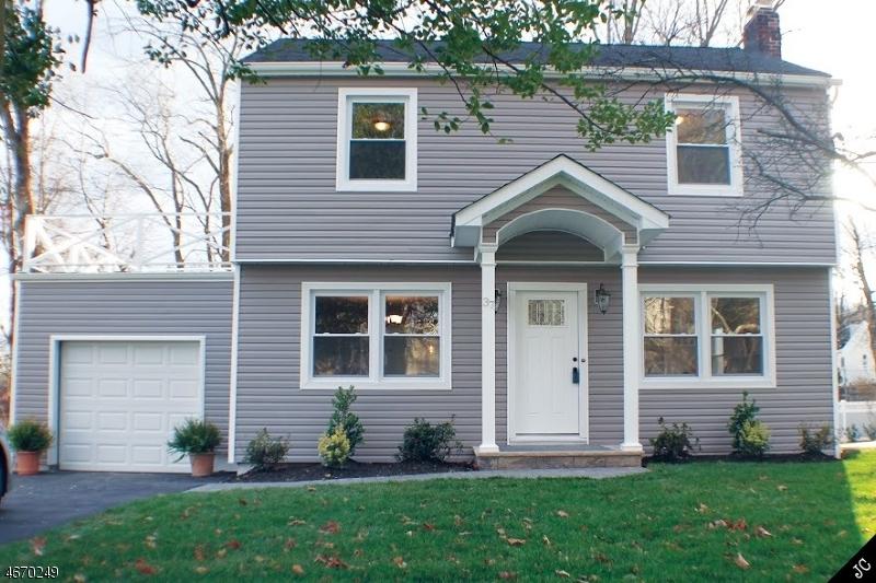 Частный односемейный дом для того Продажа на 37 Gerdes Avenue Verona, 07044 Соединенные Штаты