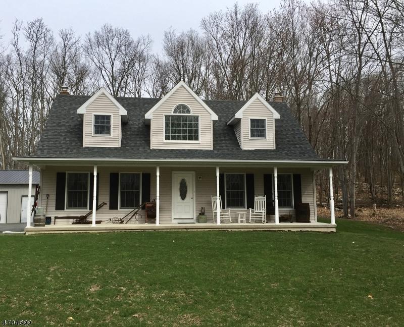 Частный односемейный дом для того Продажа на 948 Old Foundry Road Stillwater, Нью-Джерси 07860 Соединенные Штаты